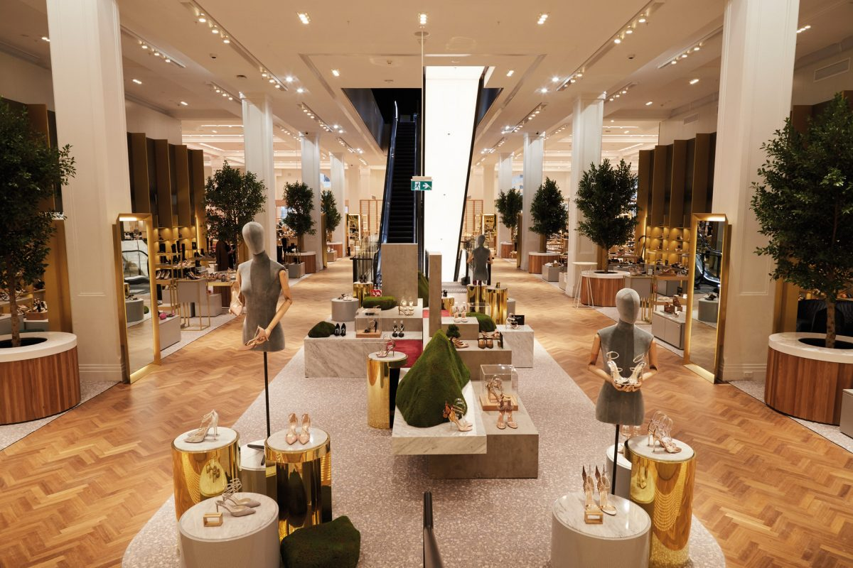 b92719b6c20 Benoy's David Jones flagship in Sydney welcomes first customers ...