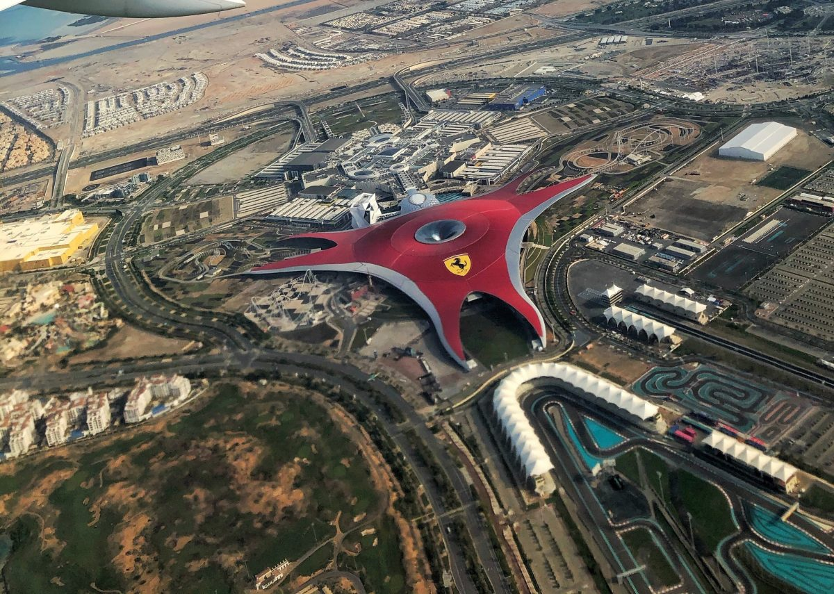 Ferrari World Abu Dhabi Yas Island Uae Projects Benoy