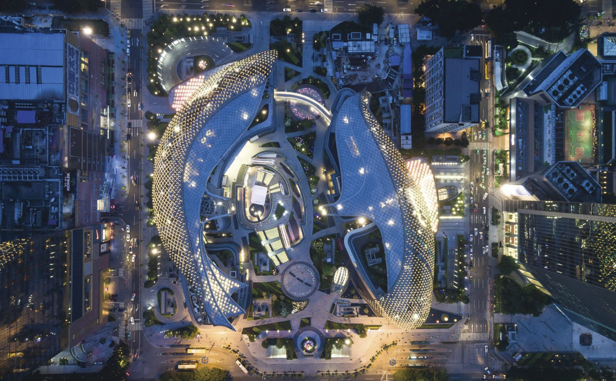Parc Central, Guangzhou, China | Our work - English (en-gb)