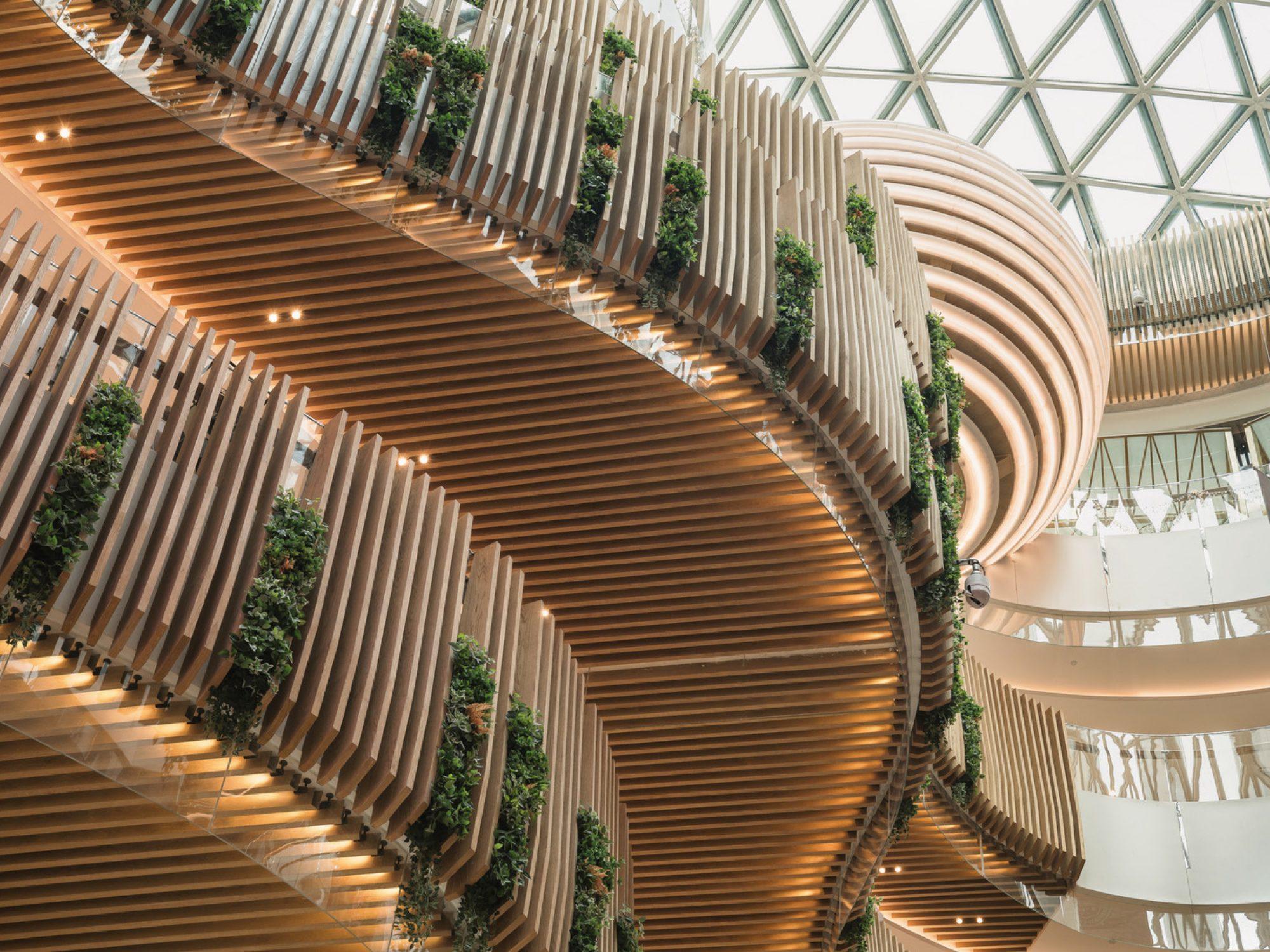 Tianjin Luneng CC Plaza Shopping Mall, Tianjin, China   Our work